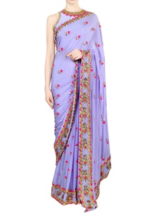 lilac-embellished-sari-with-blouse