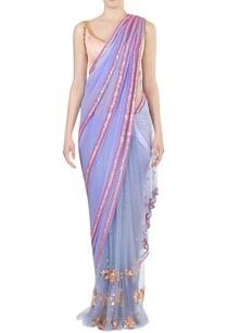 lilac-blush-pink-embellished-sari-with-blouse