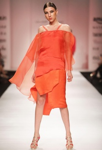 orange-wrap-style-midi-skirt
