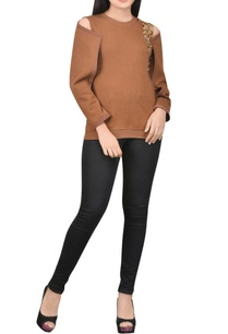 light-brown-top-with-novel-sleeves
