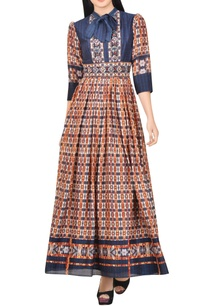 blue-maxi-dress-with-multi-colored-print