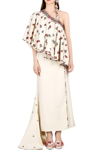 ivory-one-shoulder-top-with-wrap-skirt