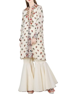 ivory-khadi-printed-tunic-flared-pants