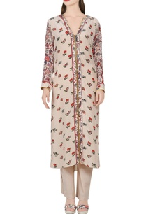 beige-printed-kurta-with-pants