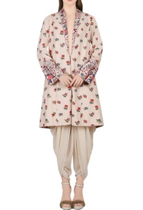 ivory-printed-jacket-dhoti-pants
