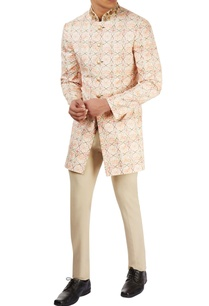 peach-printed-jacket-set