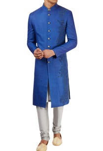 royal-blue-sherwani-set-with-threadwork