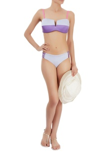 purple-grey-bikini-set