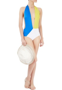 yellow-blue-white-colour-blocked-monokini