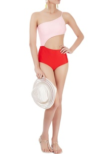 red-pink-cut-out-monokini