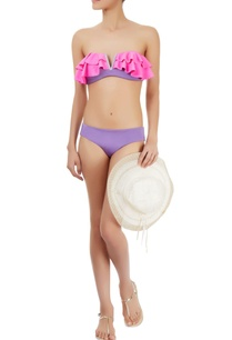 purple-grey-bikini-set-with-frills