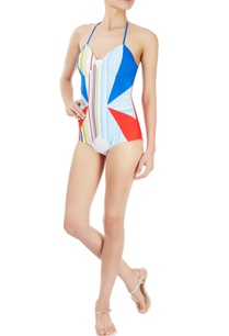 multi-coloured-striped-and-paneled-one-piece