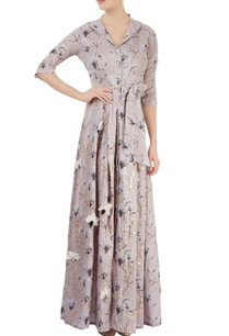 dusky-pink-printed-shirt-maxi-dress