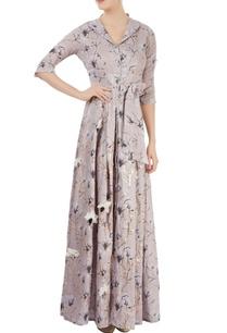 dusky-pink-printed-shirt-maxi-dress