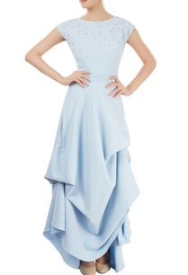 powder-blue-draped-maxi-dress