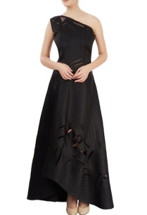 black-gown-with-cutwork