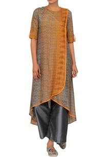 grey-orange-overlap-tunic