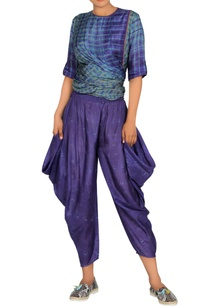 purple-cowl-dhoti-pants