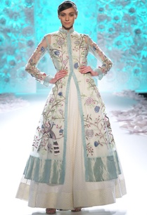 celadon-ivory-embroidered-kurta-with-dress