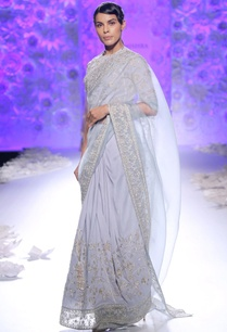 frozen-blue-sari-with-embroidery