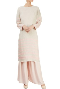 grey-tunic-with-pink-stripes