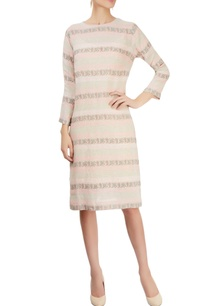 grey-pink-striped-dress-with-block-prints