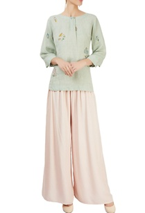 mint-green-top-with-floral-motifs