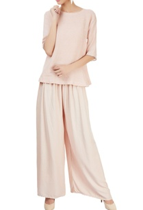 pink-top-with-elbow-length-sleeves