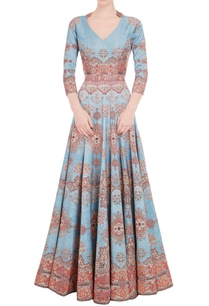 powder-blue-red-carpet-printed-gown