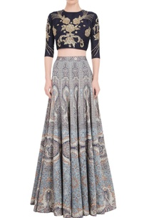 multi-colored-printed-lehenga-set-with-embroidered-blouse
