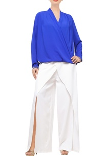 royal-blue-wrap-top