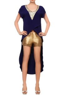 navy-blue-asymmetrical-top-with-shorts