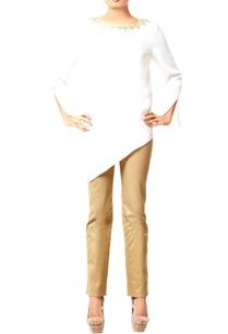 white-embellished-tunic-with-asymmetrical-hem