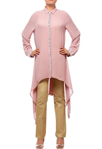 dusky-pink-collared-tunic