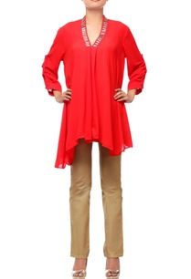 scarlet-red-tunic-with-embroidery