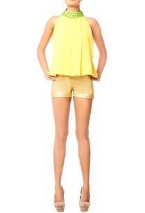 yellow-top-with-embellished-neckline