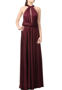 wine-gown-with-cross-back