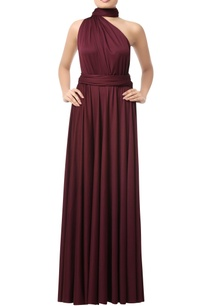 wine-one-shoulder-gown