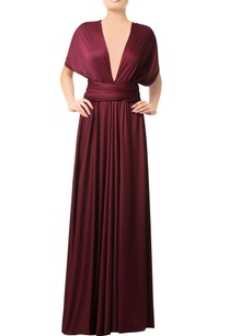 wine-gown-with-criss-cross-back