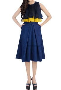 navy-blue-yellow-top-with-midi-skirt