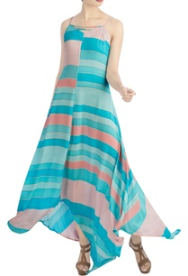 blue-pink-peach-maxi-dress