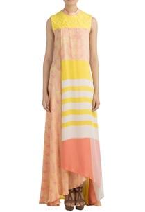 peach-yellow-printed-maxi-dress