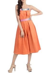 orange-midi-tube-jumpsuit