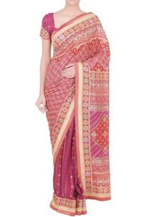 purple-embroidered-sari