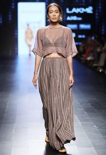 grey-block-printed-long-skirt