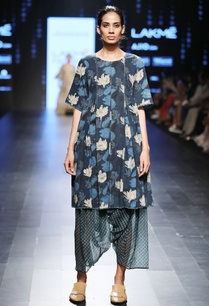indigo-blue-bagru-printed-dress