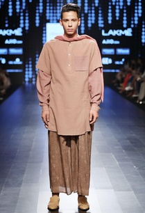 rust-brown-long-kurta