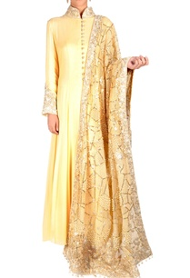 lemon-yellow-kurta-set-with-embroidery
