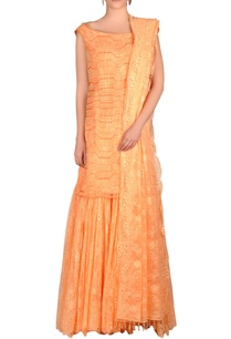 peach-embroidered-sharara-set