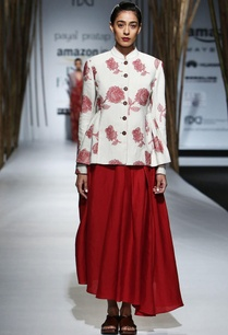 red-beige-embroidered-jacket